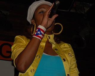 Ja'Niece onstage at Hip-hop for Hip-hop Heads 5