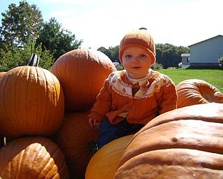 Kennedy Henderson, daughter of Todd and Jacey Henderson of Poland. Photo taken at Whitehouse Farms.