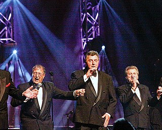 The Capris perform at Chevy Centre for the 10th annual Vocal Group Hall of Fame induction concert Thursday, November 6, 2008.
