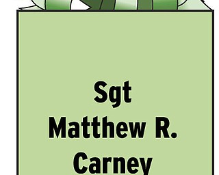 Sgt Matthew R. Carney VMM 266 UNIT 77081 FPO AE 09509-7081 Serving with the U.S. Marines in Iraq. 2003 graduate of Poland High School. Parents are Kevin and Suzanne Carney of Poland.