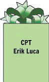 CPT Erik Luca 583 MP DET. (L&O) Unit 42205 APO AE 09342 Stationed in Iraq with the National Guard. 1985 graduate of Boardman High School.