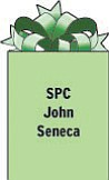 SPC John Seneca B Btry 3-4 AMD Camp Bucca, Iraq APO AE 09375 Serving in the U.S. Army. 1990 graduate of Struthers High School.