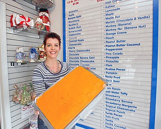 Michele Newman of Warren and just one of the many many flavors of fudge