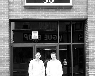 The owners of Downtown 36, Joe Zumpella and Joe Safarek.