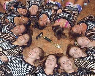 A group of hip-hop dancers from Canfield won first place in a contest in Pittsburgh. Photo from Lana VanAuker of Canfield.