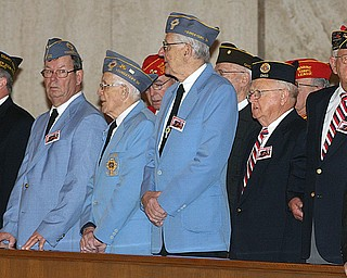 Veterans at St. Christine's Mass