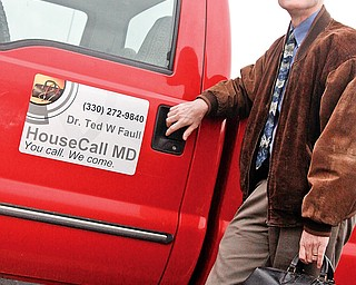 Dr. Ted Faull of Boardman is starting a house call business, HouseCall MD.