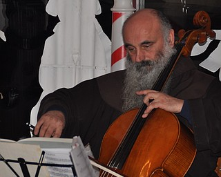 Father Vit and Friends play cello of First Night Youngstown 2009