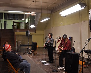 Davis & McKay perform at First Night Youngstown 2009