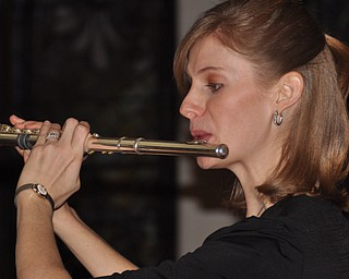 Brianne Olsen of The Olsen Duo as part of First Night Youngstown