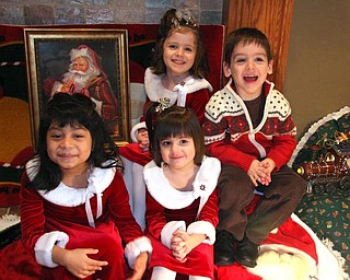 "What more can you ask for when 3 4 year olds and a 5 year old ""pose"" for their Mom ""just one more time!""