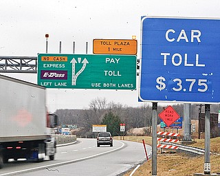 Westgate of the Pa Turnpike or Welcome to high tolls