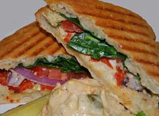 Mediterranean Panini from The Flaming Ice Cube