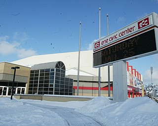 Erie Convention Center home of the Erie Otters