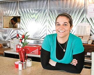 Erika Saadeh of Erika's Emerald Diner