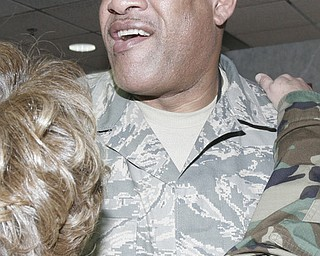 Six members of the 910th Force Support Squadron deploy to Bagram AB, Afghanistan Friday, February 6, 2009.