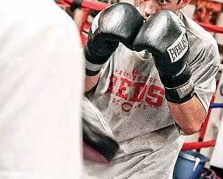 Jake Giuriceo training