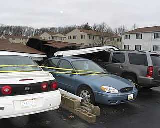 Carport collapse in Warren.