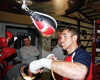 Marco Antonio Rubio at Burnside Boxing Center