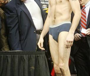 Pavlik Rubio weigh in