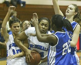 McDonald vs Youngstown Christian Girls
