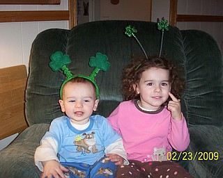 PICTURE PERFECT: Dave and Danielle LaRosa of Boardman share this photo of their kids, Zoe and David.