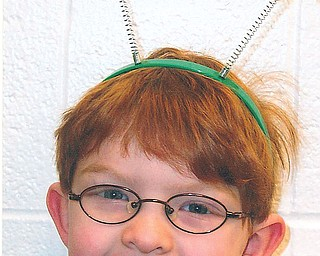 READY FOR ST. PATRICK'S DAY: This little leprechaun is Sam James, who attends kindergarten at Currie Elementary in Fowler Township.