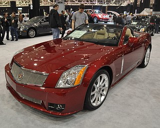 Cadillac XLR-V at the 2009 Cleveland Auto Show