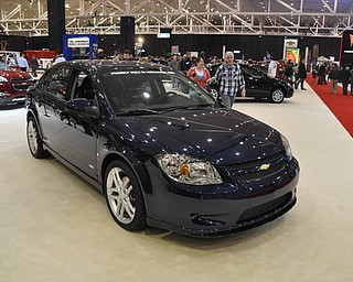 Lordstown-built Chevrolet Cobalt at the 2009 Cleveland Auto Show