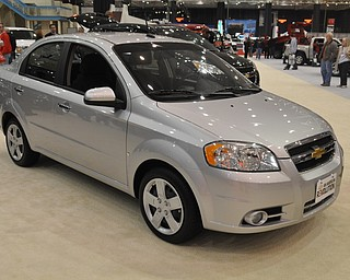 Chevrolet Aveo at the 2009 Cleveland Auto Show