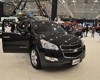 Chevrolet Traverse at the 2009 Cleveland Auto Show