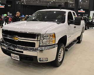 Chevrolet Heavy Duty truck at the 2009 Cleveland Auto Show