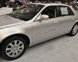 Cadillac DTS at the 2009 Cleveland Auto Show