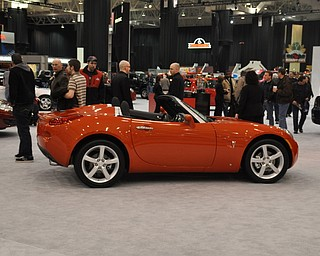 Pontiac Solstice at the 2009 Cleveland Auto Show