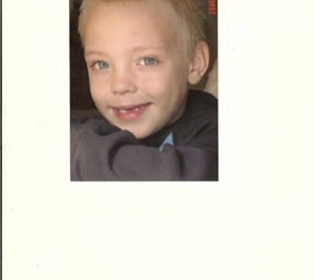 This picture of BRENDEN HALL, 8, was taken by Grandma Carol Hall-Cox of Poland. He is the son of Eric Hall of Boardman and Christie Marks of Fort Irwin, Calif.