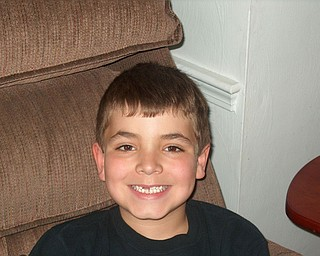 Annette DePalmo of Canfield shares this picture of her 6-year-old son, ANGELO who's missing his two front teeth!
