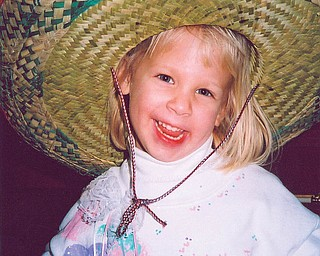 ALEXA MARINO of Poland was 3 when this picture was taken in 1994.