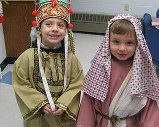 CLANCY CHRYSTAL of Liberty is wearing the crown and BENJAMIN DEWBERRY of Youngstown is the shepherd.