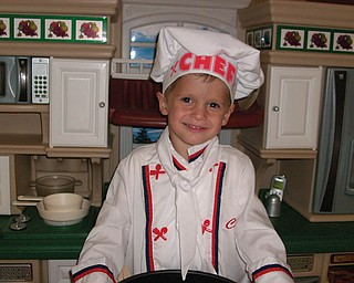 ANDREI PAGNOTTA in his chef's hat cookin' up some fun!