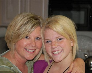 Lisa McCormick, 45, and Alyssa McCormick, 17, of Canfield.