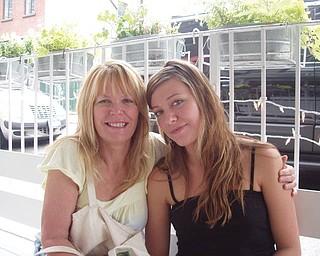 Marsha Karzmer, 57, of Boardman and her daughter, Carly Karzmer, 22, of New York City.