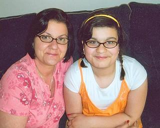 Denise Rubano, 44, and Marissa Latcheran,13, of Niles.