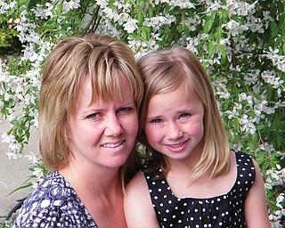Kelley Ferguson, 39, and Sydney Ferguson, 7, of Austintown.