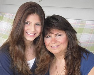 Carolyn Febo-Brown, 44, and MacKenzie Brown, 12, of New Middletown.