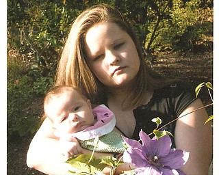 Aurora Weber, 20, and daughter, Isable Gibson, 13 months, Central, S.C.