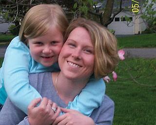 Melanie Scott, 30, and Emily Scott, 6, of Columbiana.