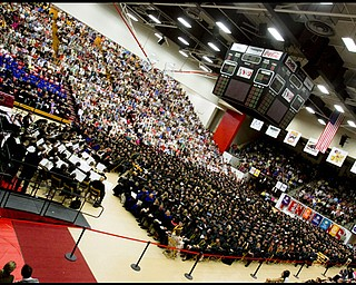 Youngstown State University's Undergraduate Commencement, Saturday May 16, 2009.