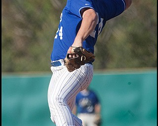 5.20.2009 Anthony Raschilla pitches during the top of the fifth inning at Cene Field on Wednesday afternoon. Thomas