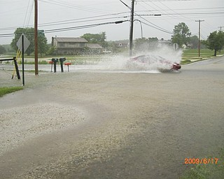Turner Rd and Herbert Rd. flood over