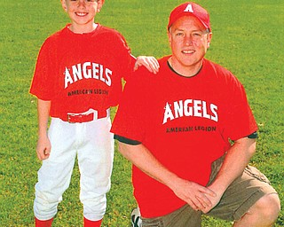 Kevin Pollock, 41, and Kevin, 9, of Sharpsville, Pa.